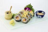Sake Maguro Tempura Roll | AUREOLE