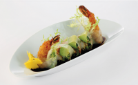 Ebi Crunch Roll | AUREOLE